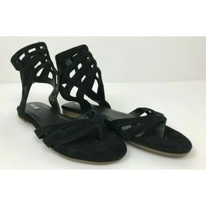 Kimchi Urban Outfitters Caged Gladiator Sandals 9